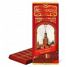 "Milk aerated chocolate ""Russian Chocolate"""
