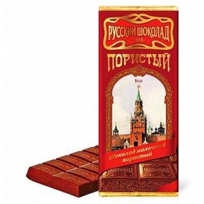 "Milk aerated chocolate ""Russian Chocolate"""