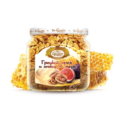 """Walnuts and figs in honey """"te Gusto"""""""