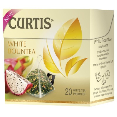 "White tea ""Curtis"" Bountea (20 count)"