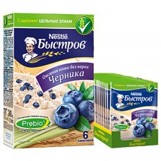 "Oat flakes ""Bistrov"" Blueberries with vitamins"