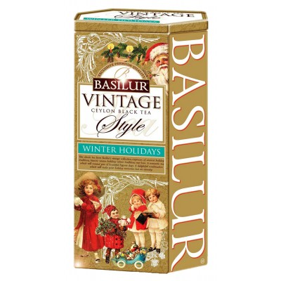 "Black Tea Basilur Vintage ""Winter holidays"""