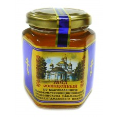 "Natural Honey consecrated ""Bashkir medovnya"" (glass)"