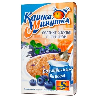 "Oat Flakes ""Kasha Minutka"" with Blueberries"