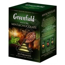 "Greenfield Black Tea ""Mint&Chocolate"" 20 pak"