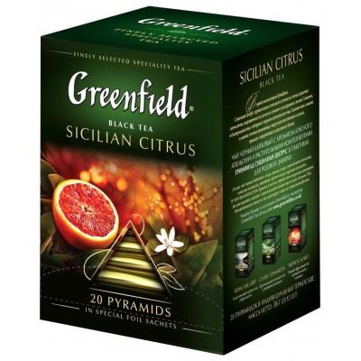 "Greenfield Black Tea ""Sicilian Citrus"" 20 pak"