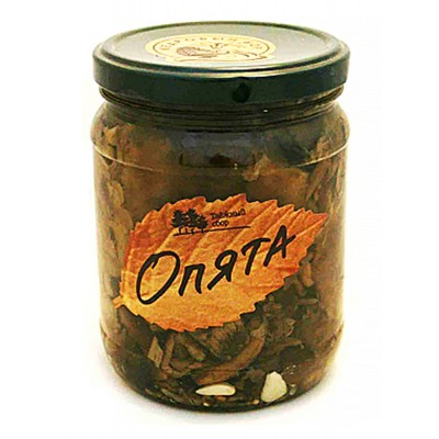 "Mushrooms Opyata Pickled ""Taiga Collection"""
