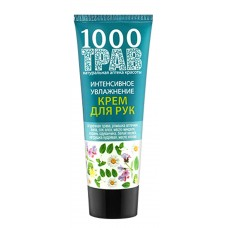 "Hand cream ""1000 herbs"" Intensive moisturizing"