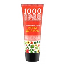 "Hand cream ""1000 herbs"" Whitening"