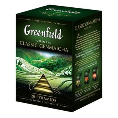 "Greenfield Green Tea ""Classic Genmaicha"" 20 pak"