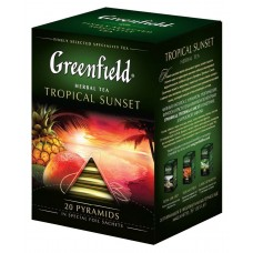 "Greenfield Herbal Tea ""Tropical Sunset"" 20 pak"