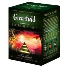 "Greenfield Herbal Tea ""Tropical Sunset"" 20 pak"