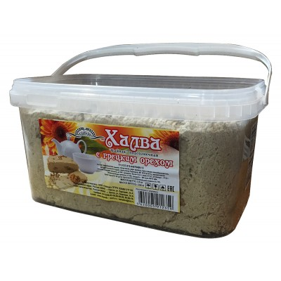 "Sunflower Halva ""Kaynak"" with walnut 3500 g"