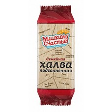 "Sunflower Halva ""Mishkino schaste"" Family pack 500g"