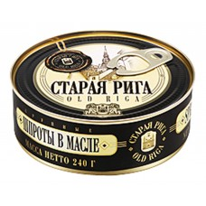 "Sprats in Oil ""Old Riga"" 240 gr"