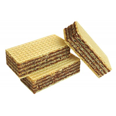 "Wafers mini ""Ladushki"" Chocolate taste (case)"