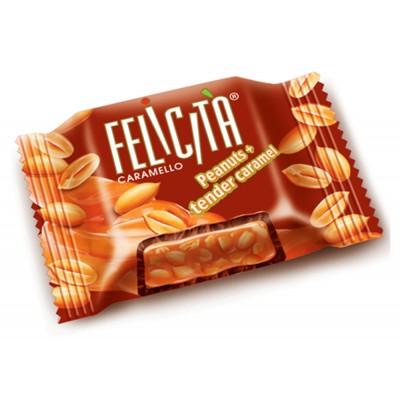 "Sweets ""Felicita Caramello"" peanuts and soft caramel"