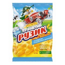 """Ruzik"" Crispy Corn Sticks with condensed milk taste"