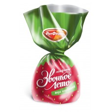 "Sweets ""Zvonkoye leto"" strawberry flavor"