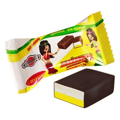 "Candies ""Twins Lakomki"" with lemon souffle (Sugar  FREE)"