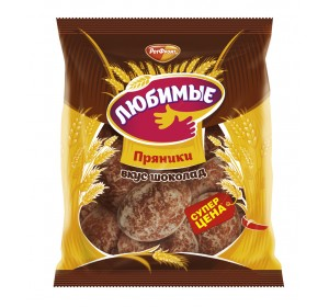 "Gingerbread ""Favorite"" (Lubimye) chocolate flavor"