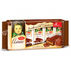 "Biscuit cakes ""Alenka"" chocolate cream taste"