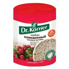 """Bread Loafs (Hlebtsy) """"Dr. Korner"""" Cranberry 100g"""