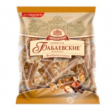"Candy ""BABAEVSKIE""  (package) Original w/Hazelnut & Cocoa   200gr"