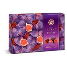"Candy Set ""Mikaello"" Fig and Date White-Dark chocolate glaze 220g"
