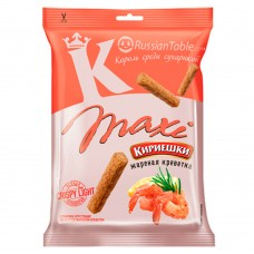"Croutons ""Kirieshki MAXI"" with roasted shrimp flavor"