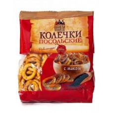 """Drying (Sushki) """"Kolechki Posolskiye"""" with Poppy Seeds"""