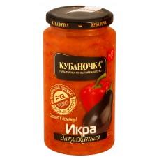 """Eggplant paste """"Kubanochka"""" 500g"""