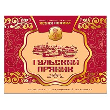 """Gingerbread """"Tula"""" with fruit filling (Apple Cinnamon) in box 500g"""