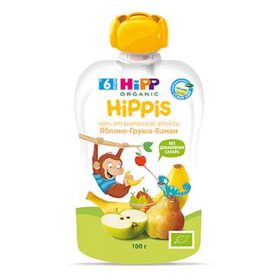 """HiPP"" Apple/Pear/Banana Puree 100g/3.52oz (6 month +)"