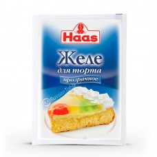 """Jelly for cake """"Haas"""" 10g"""