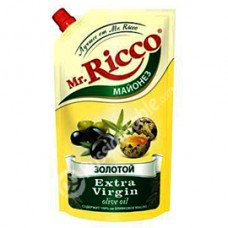 "Mayonnaise ""Mr.Ricco Gold Extra Virgin Olive Oil"""