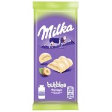 """Milka"" Milk Aerated Chocolate with Hazelnut"