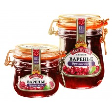 "Red Bilberry jam ""Jam Empire"" 550 gr."