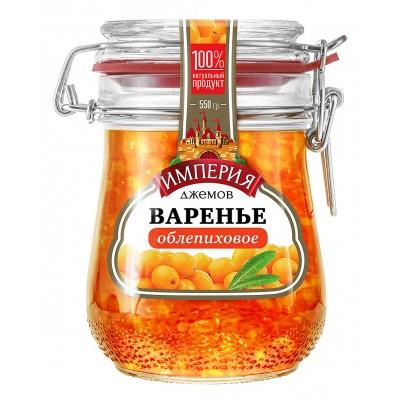 """Sea buckthorn jam """"Jam Empire"""" 550 g"""