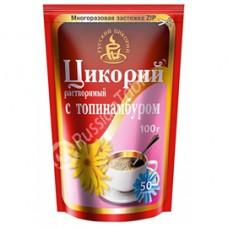 Soluble chicory powder with Jerusalem artichoke