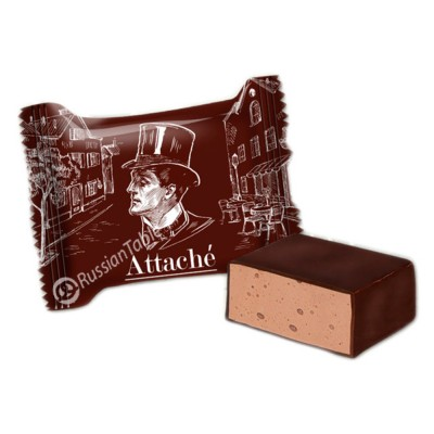"""Souffle """"Attache"""" brownie flavored"""