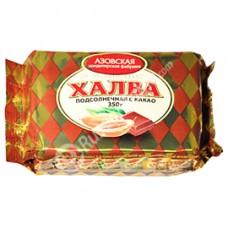 """Sunflower Halva with cocoa """"AZOV"""" 350 g"""
