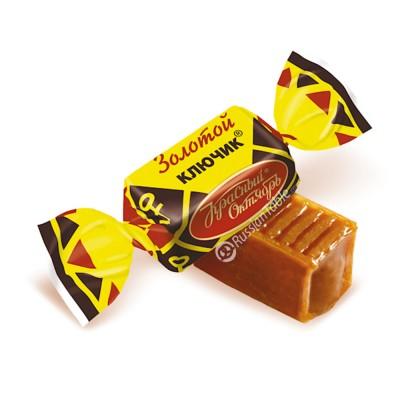 """Toffee """"Zolotoy Klyuchik"""" (Golden Key) 1 lb."""
