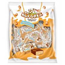 """Wafer candy """"Korovka"""" (Cow) milk 250gr"""
