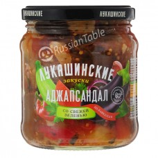 "Adjapsandal ""Lukashinskie"" with fresh herbs"