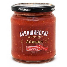 "Adzhika ""Lukashinskie"" with hot pepper and garlic (Astrahan Style) 480g"