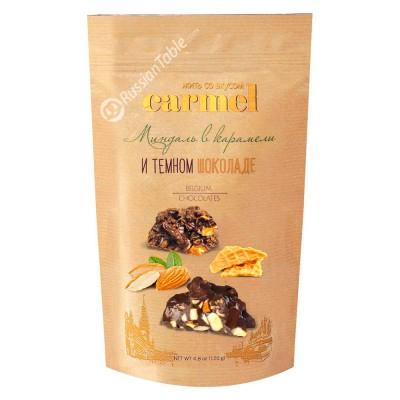 "Almonds in caramel and dark chocolate ""Carmel"" 120g"