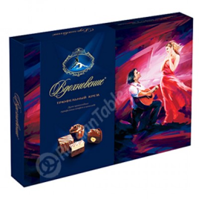 "Assorted Chocolates set ""Vdohnovenie"" Truffle cream 170g"