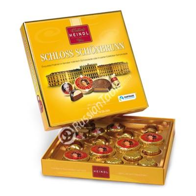 "Assorted Pralines in whole milk chocolate ""Schloss Schonbrunn"" 225g"