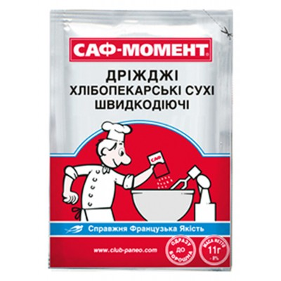 "Baking Yeast ""Saf-Moment"" 11g"